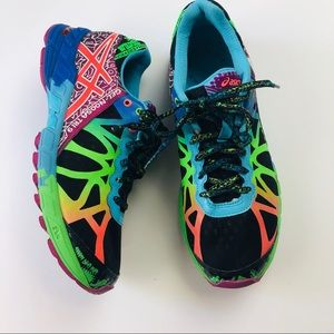 ASICS Rare Gel Noosa Tri 9 colorful running shoe